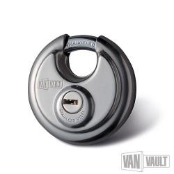 Stainless Steel Disc Padlock - 70mm