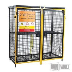 Fold-Away Gas Cage - 1700 x 880 x 1735mm