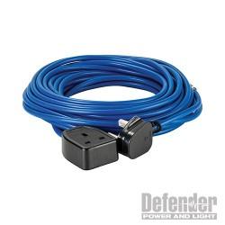 Extension Lead Blue 1.5mm2 13A 14m - 230V