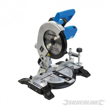 1400W Compound Mitre Saw 210mm - 1400W