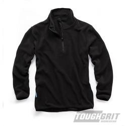 Tough Grit 1/4-Zip Fleece Black - XL