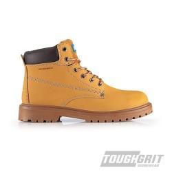 Tough Grit Oak Safety Boot Tan - Size 7 / 41