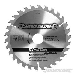 TCT Nail Blade 30T - 184 x 30 - No Rings
