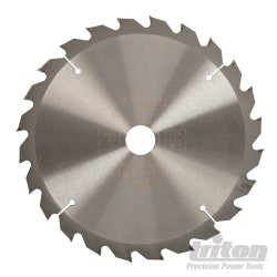 Woodworking Saw Blade - 250 x 30mm 24T