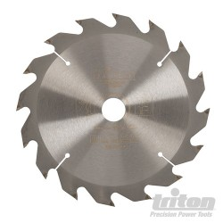 Cordless Construction Saw Blade - 165 x 20mm 16T