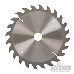 Cordless Construction Saw Blade - 165 x 20mm 24T