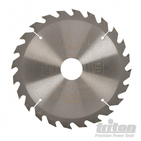 Construction Saw Blade - 165 x 30mm 24T