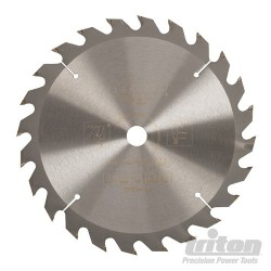Cordless Construction Saw Blade - 190 x 16mm 24T