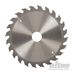 Construction Saw Blade - 190mm 24T 30mm Bore
