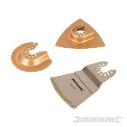 Multi-Tool Tiling Blade Set 3pce - 3pce