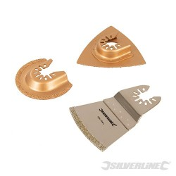 Sada kotoučů na keramické dlaždice pro Multi-Cutter - 3 díly - 3pce