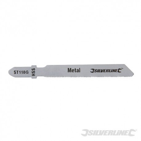 Jigsaw Blades for Metal 5pk - ST118G