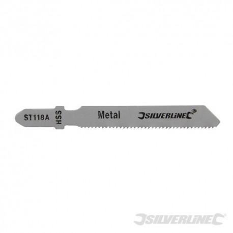 Brzeszczot do wyrzynarki do metalu, 5 szt. - ST118A