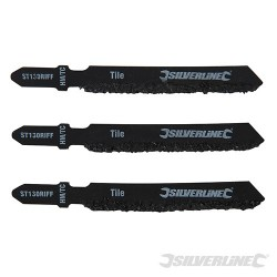 Jigsaw Blades for Ceramics 3pk - ST130 RIFF