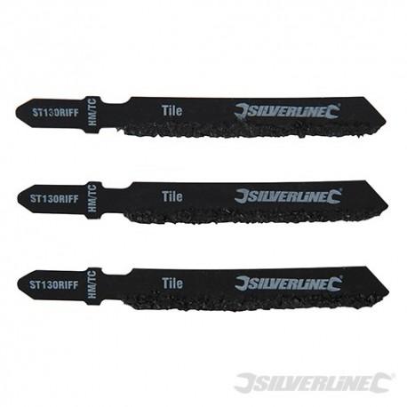Jigsaw Blades for Ceramics 3pk - ST130 RIFF