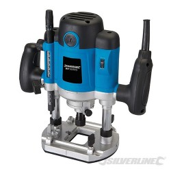 """1500W Plunge Router 1/2"""" - 1500W UK"""