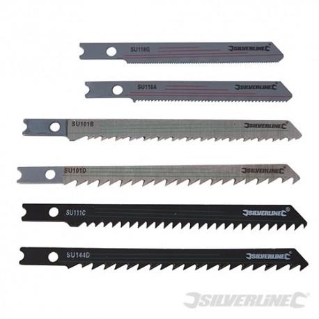 Jigsaw Blade Set Universal Fitting 30pce - 30pce Wood/Metal