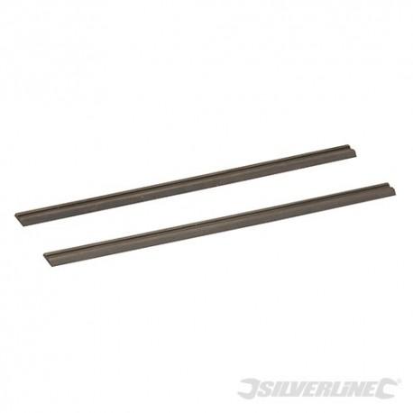 Silverline Nože pro hoblíky, wolfram-karbidové - 2 kusy - 82 x 5.5 x 1.1mm 125629 5055058104014