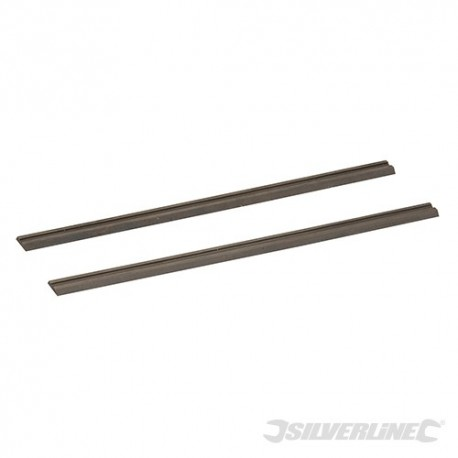 Nože pro hoblíky, wolfram-karbidové - 2 kusy - 82 x 5.5 x 1.1mm