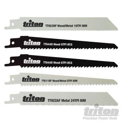 Recip Saw Blade Set 5pce - 150mm