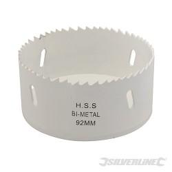 Pilová děrovka z bimetalu na nerez - 92mm