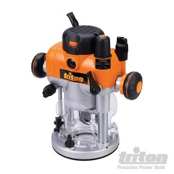 Dual Mode Precision Plunge Router 2400W - TRA001
