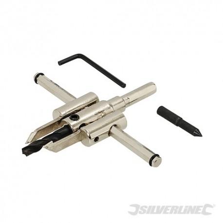 Nastavitelná fréza na otvory - 30 - 120mm