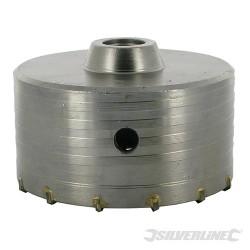 Karbidový jádrový vrták - 115mm