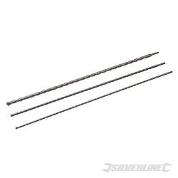 Zestaw wiertel udarowych SDS Plus 3 szt - 1000 mm