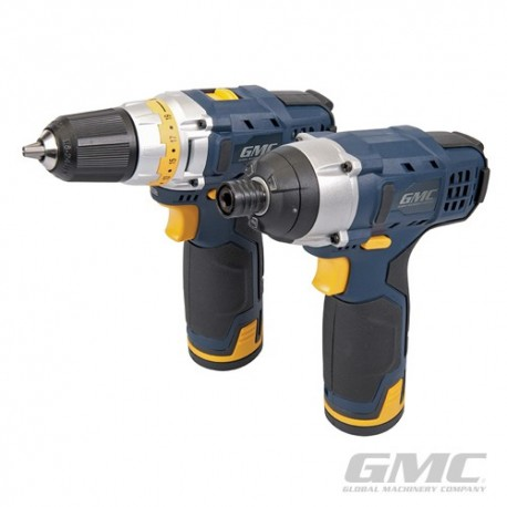 12V Drill Driver & Impact Driver Twin Pack - GTPDDID12 UK