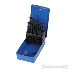 HSS-R Jobber Drill Bit Set 19pce - 1 - 10mm