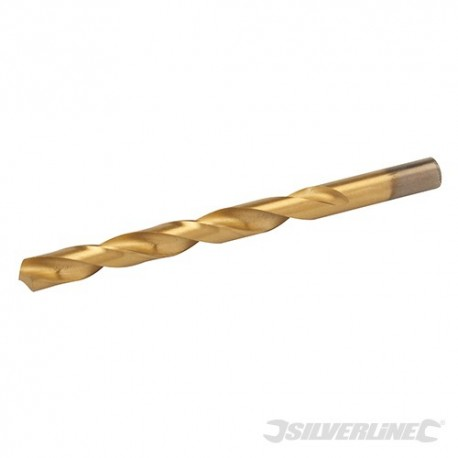 HSS Titanium-Coated Drill Bit - 10.0mm