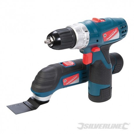 Silverstorm 10.8V Multi-Tool & Drill Driver Twin Pack - 10.8V