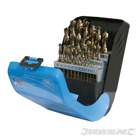 Cobalt Drill Bit Set 25pce - 1 - 13mm