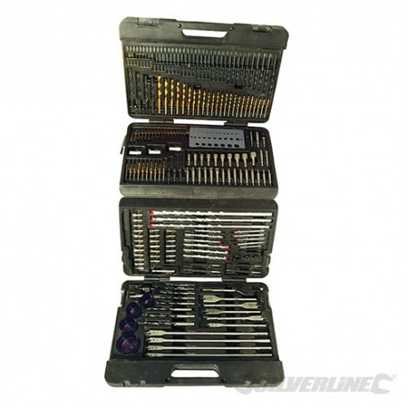 Assorted Drill Bit Set 204pce - 204pce