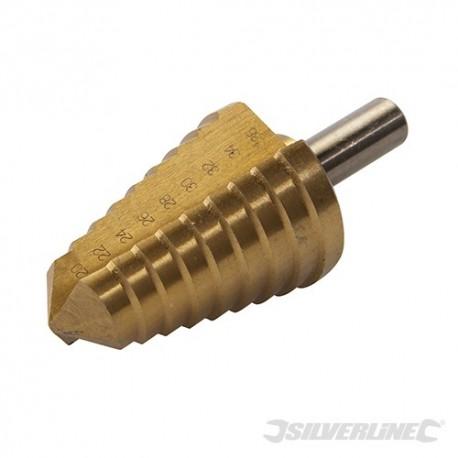 Titanium-Plated HSS Step Drill - 20 - 36mm