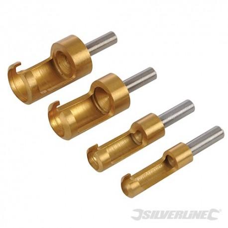 Plug Cutter Set 4pce - 6 - 16mm