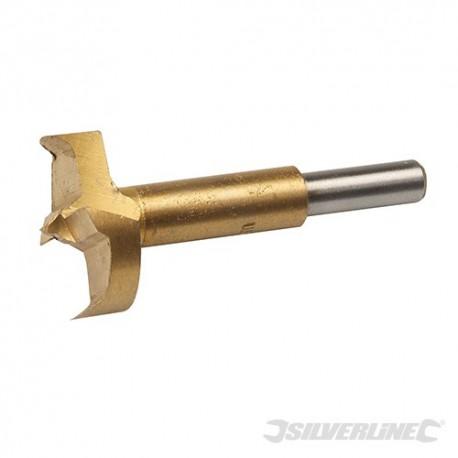 Titanium-Coated Forstner Bit - 40mm