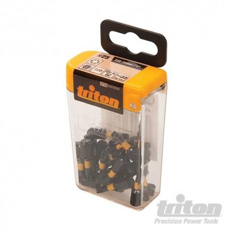 T20 bit udarowy Torx, 25 szt. - T20 25mm