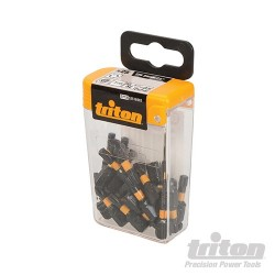 T25 Screwdriver Impact Bit 25pk - T25 25mm