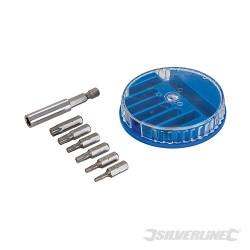 Screwdriver Bit Set Torx 7pce - T10, T15, T20, T25, T30 & T40