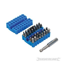 Screwdriver Bit Set 42pce & Bit Box - 42pce