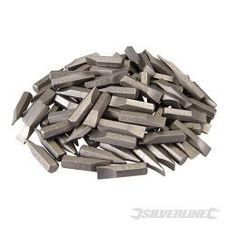 Plochý šroubovací bit, chrom-vanadiový - 100 kusů - Slotted 7mm