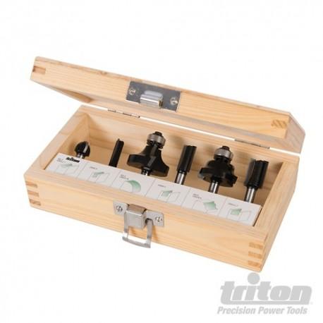 """1/4"""" Router Kit 6pce - 6pce"""