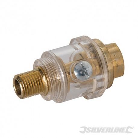 "Mini In-Line Oiler - 1/4"" BSP"