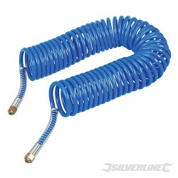 Coiled Air Hose - 10m