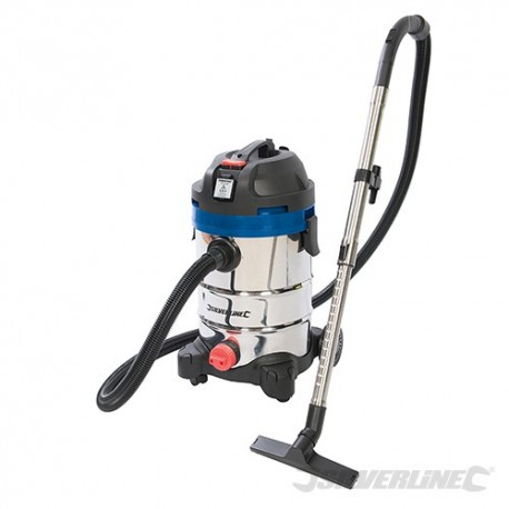 1250W Wet & Dry Vacuum Cleaner 30Ltr - 1250W