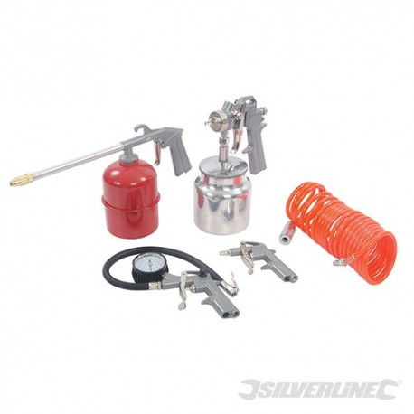 Air Tools & Compressor Accessories Kit 5pce - 5pce