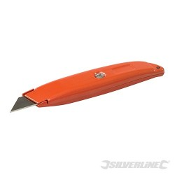 Retractable Knife - 150mm Hi-Vis