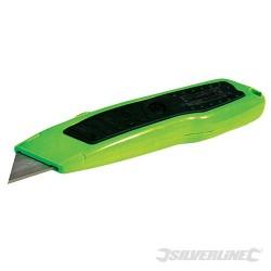 Jaskrawy nóz Expert z ostrzem chowanym - 150 mm